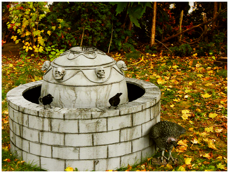 Halloween 2010. Fountain. by LittleDucklette