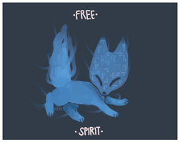 Free Spirit by foxtribe