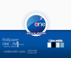 Wallpaper ONE FM - Radio by CaHilART