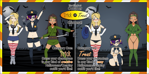 KiseCast Trick or Treat Contest by EzraMorris