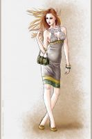 Fashion dress 3 by Tania-S