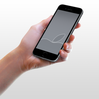 Grey Wallpaper for iPhone 6 and 6 Plus by kiwimanjaro