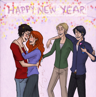Happy New Year Mrs Potter by merrydisposition