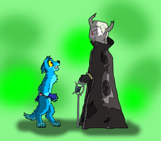 You look a lot smaller as your overworld sprite... by Sooty123
