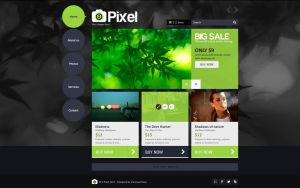 Z Pixel - Photo Store PSD Template by sandracz