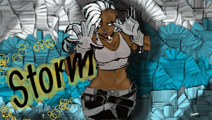 Storm Colored by AnArtistic0Soul