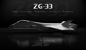 ZG-33 (Stealth Fighter) by boningerworks