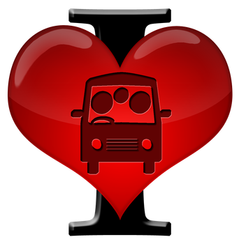 I Heart Commuting Pack 1 by MereMagicDesigns