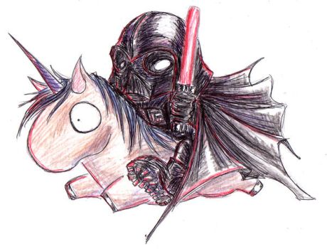 Darth Vader by Dyemelikeasunset