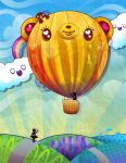 Tedsie Balloon: DA Mag 22 by marywinkler