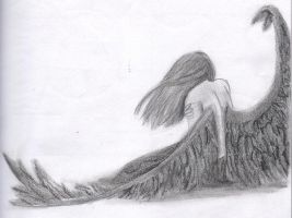 Fallen Angel by ObliviouslyBeautiful