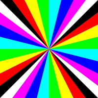 square outrayj 8 color by 10binary
