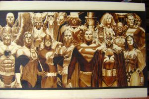 jla by burninginkworks