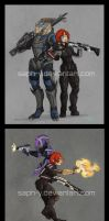 Mass Effect compilation 1 by Saph-y