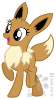 Ponymon - Eevee by partylikeapegasister
