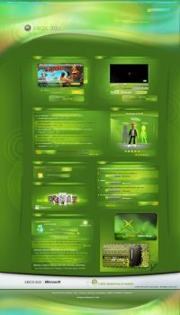 Xbox 360 : A new Experience by Eklosion