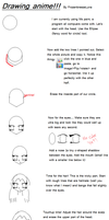 How to draw anime faces + by frozenbreezeLuna