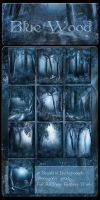 Blue Wood Backgrounds by moonchild-ljilja