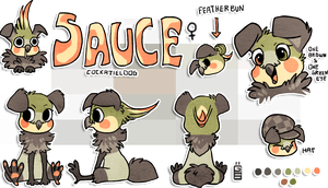 Sauce Sheet by griffsnuff