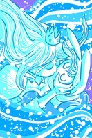 Fionna and the Ice Queen by tofutiles