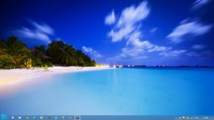 Beach Theme Windows 8 by Adyss88 by Andrei-Azanfirei