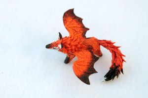 Dragon fox by hontor