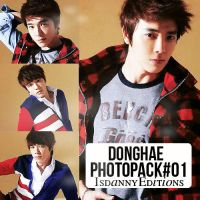 Donghae (Super Junior) - PHOTOPACK#01 by JeffvinyTwilight