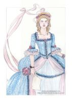 another Marie Antoinette by Eliathanis