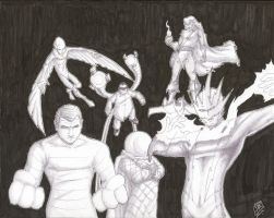 Sinister Six 01 02 10 by JamesLynch