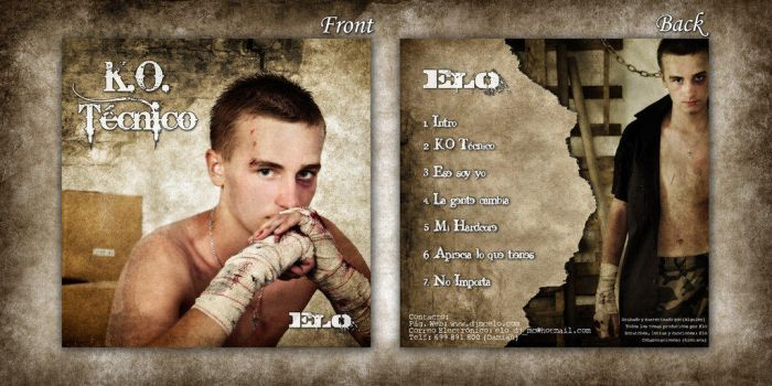 Elo CD COver by CordobitaDeviants
