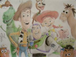Toy Story 3 by OMKDrawings