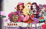 Ever After High Skin for Windows Media Player by HakureiKai
