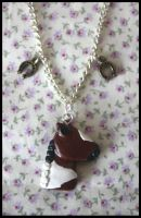 Custom horse necklace by citruscouture