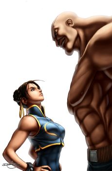 SF Legends Chun-Li 4A by UdonCrew