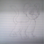 Kougra Drawing by ashante08