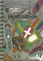 Dalton Sketchbook Cover: front by MarchAlius