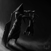 my Pyramid Head by 19MiM90