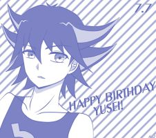 HBD Yusei! by Awesomeness02