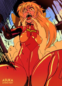 Asuka living fury by MrParanoidXXX