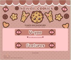 U-yaa's cookie journal skin by miemie-chan3