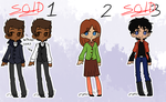 Adoptables batch OPEN by zombie-kity