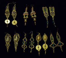 7 Earring Designs by Peter-The-Knotter