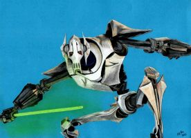 General Grievous Star wars the clone wars by MEVM