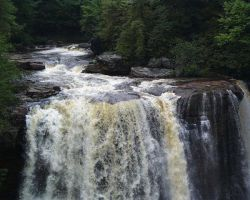 Mighty Blackwater Falls by aPatchworkProduction