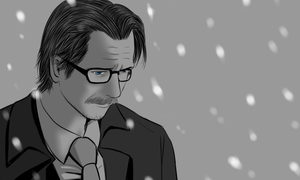 TDKR : Jim Gordon by ne2nyeon