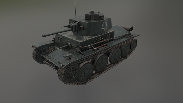 PzKpfw 38(t) 2 by LordTruewulf