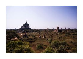 Old Bagan views by lightdrafter