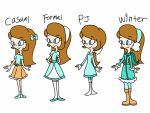 Maria's outfits by smileprettycure