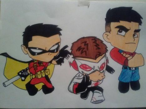 Young Justice Trinity by KingCozy7