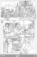 X-men 1 Page 2 Pencils by ElVlasco